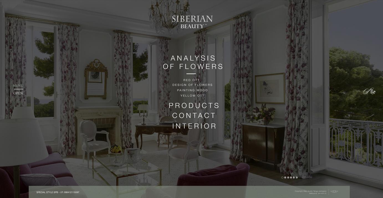 Сайт компании по росписи мебели